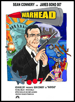 A fan's vision for a Warhead poster