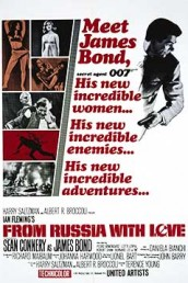 From Russia With Love - UK Poster