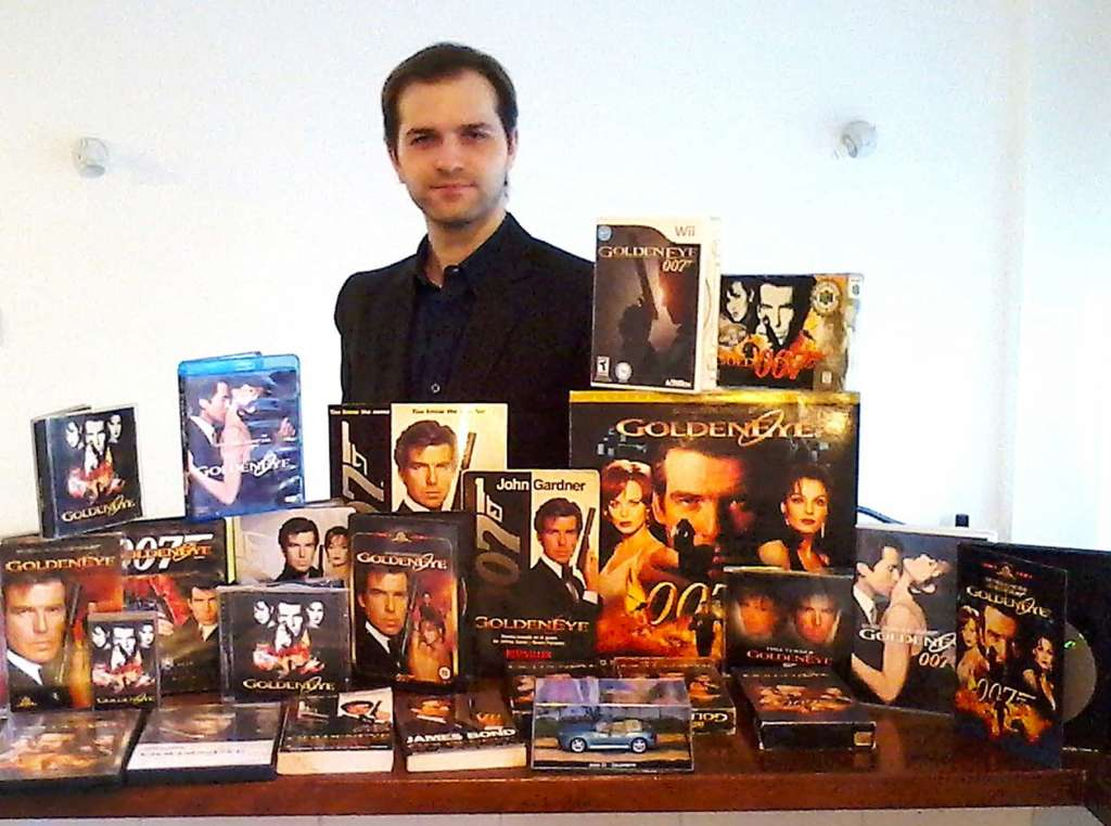 Nicolas Suszczyk and his collection of GoldenEye 007 merchandise