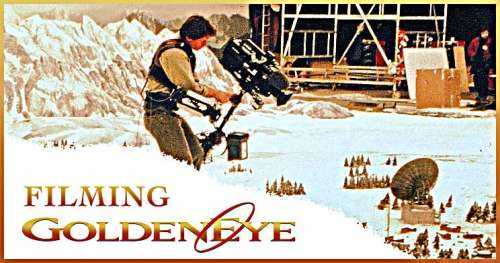 Filming GoldenEye at Leavesden Studios